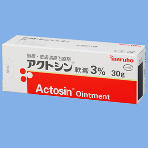 Actosin Ointment 3% : 30g