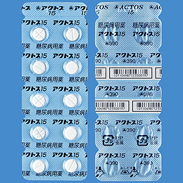 ACTOS Tablets 15  20tablets