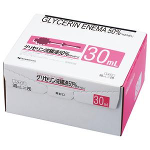 KENEI G ENEMA 50% L 30ml : 20bottles