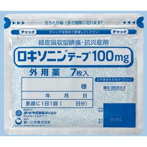 Loxonin Tape 100mg : 35 sheets