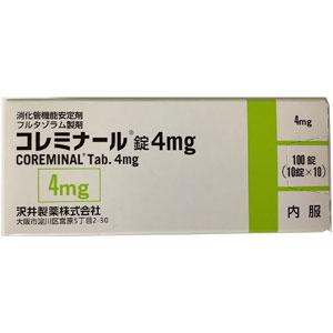 Coreminal Tablets 4mg : 100 tablets