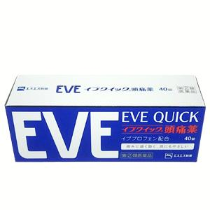 Eve quick: 40tablets