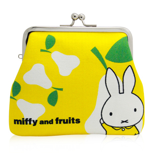 Purse: miffy and fruits
