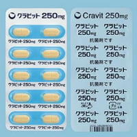 CRAVIT TABLETS 250mg:10tablets