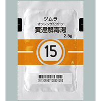 Tsumura Ourengedokuto[15] : 42bags(for two weeks)